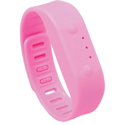 Bluetooth Activity Tracker Sports Bracelet - Pink