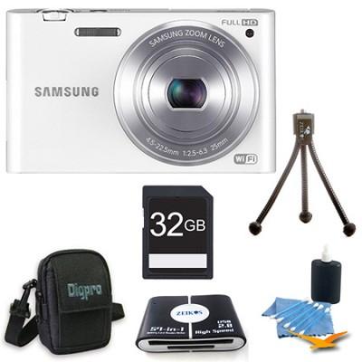 MV900 Smart Touch Multi View 3.3` LCD White Digital Camera Kit