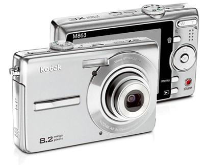 EasyShare M863 8.2 MP Digital Camera (Silver)