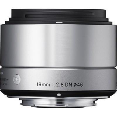 19mm F2.8 EX DN ART Lens for Micro Four Thirds (Silver)