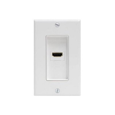 HDMI Wall Plate - White