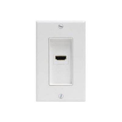 HDMI Wall Plate - White