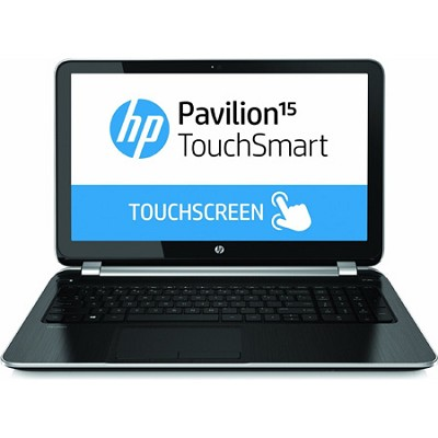 Pavilion TouchSmart 15.6` 15-n260us Notebook - AMD Elite Quad-Core A8-5545M Proc