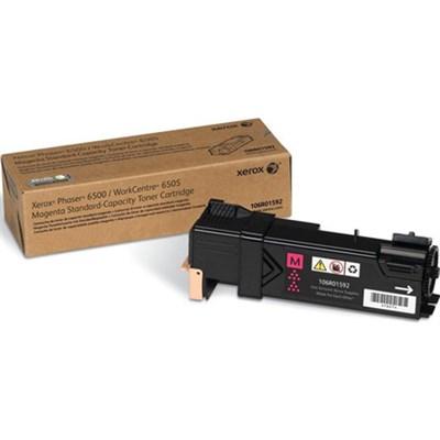 Standard Capacity Magenta Toner Cartridge - 106R01592