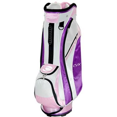 CVX Cart Bag - Pink/White/Purple - OPEN BOX