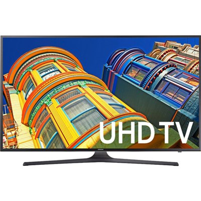 UN60KU6300 - 60-Inch 4K UHD HDR Smart LED TV - KU6300 6-Series - OPEN BOX