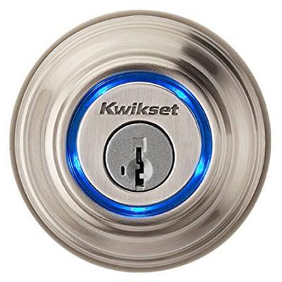 925 Kevo Single Cylinder Bluetooth Enabled Deadbolt Satin/Nickel 925 KEVO DB 15