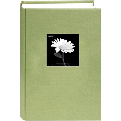 DA-300CBF Fabric Frame Bi-Directional Memo Album (Sage Green)