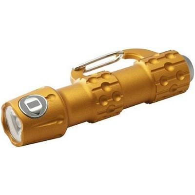 LK106A - Link Aluminum Carabiner Flashlight - Pumpkin Orange