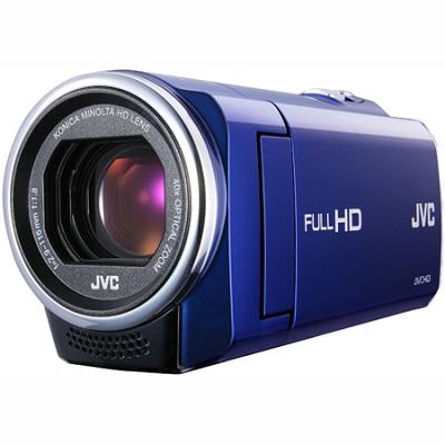 GZ-E10AUS - HD Everio  40x Zoom f1.8  (Blue) - Refurbished w/ 90 Day Warranty
