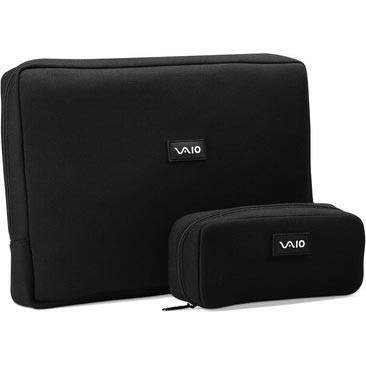 VAIO VGPAMC5 Neoprene 14.1` Notebook and AC Adapter Cases
