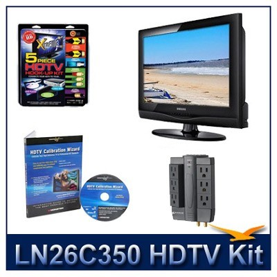LN26C350 - HDTV + High-performance Hook-up Kit + Power Protection + Calibration