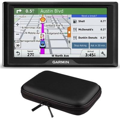 Drive 60LM GPS Navigator (US) 010-01533-0C Hardshell Case Bundle