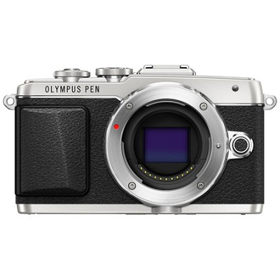 PEN E-PL7 Mirrorless Micro Four Thirds Digital Camera - Silver
