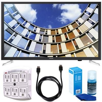UN32M5300AFXZA 32` LED 1080p Smart HD TV (2017 Model) w/ Accessory Bundle