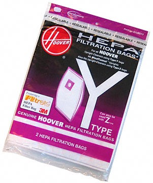 4010801Y HEPA Y Vacuum Bags