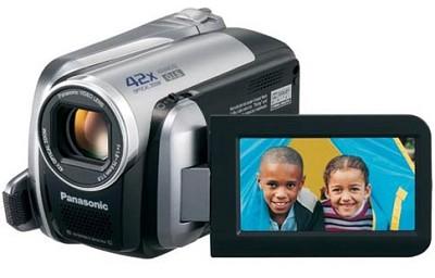 SDR-H40 40GB Hard Disk Drive / SD Hybrid Camcorder - REFURBISHED