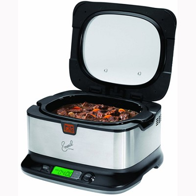 Emeril by T-fal 6-Quart Slow Cooker w/ Automatic Temperature Control - SD5000001