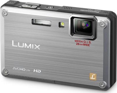 DMC-TS1S LUMIX 12.1 Megapixel TOUGH Digital Camera (Silver) OPEN BOX