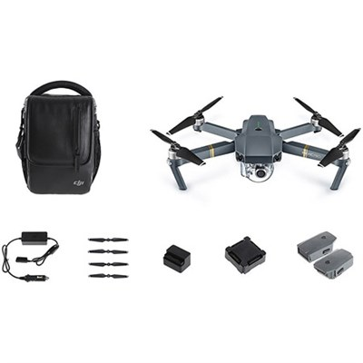 Mavic Pro Quadcopter Drone Combo Pack with 4K Camera and Wi-Fi