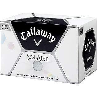 Women's Solaire Golf Balls - White 641034712