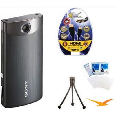 MHS-TS10/B Bloggie Touch 4GB Black HD Camcorder w/ HDMI, LCD Protectors, Tripod