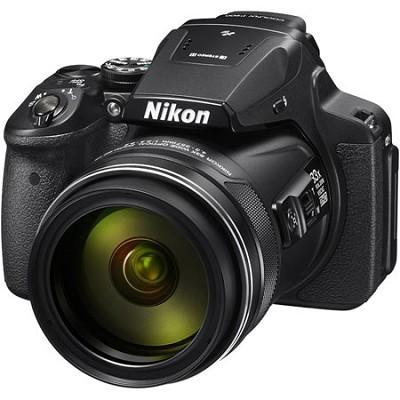 COOLPIX P900 16MP 83x Super Zoom Digital Camera Full HD Video, WiFi, GPS - Black