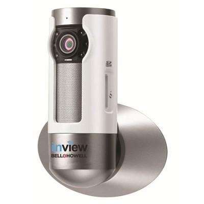 InView HD H.264 Wall Mountable Wi-Fi IP Camera 10x Zoom Night Vision - C-IP109