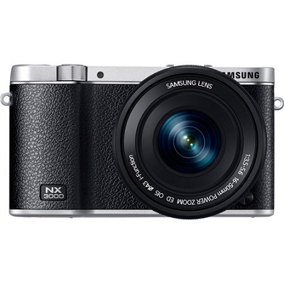 NX3000 20.3MP Black Smart Compact System Camera with 16-50mm OIS Power Zoom Lens