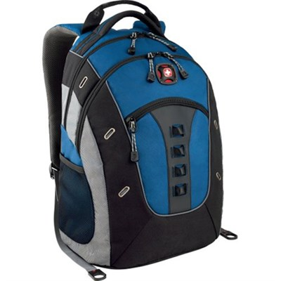 SwissGear Granite Deluxe  Backpack - (Blue/Black)