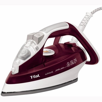 Ultraglide Easycord 3-Way Auto Shut-Off 1,700-Watt Steam Iron, Red (FV4446003)