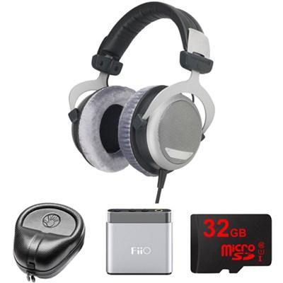 DT 880 Premium Headphones 250 OHM - 481793 w/ FiiO Amp. Bundle