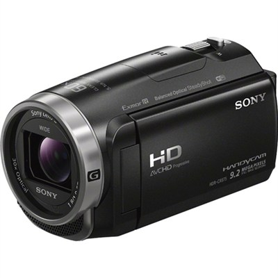HDR-CX675/B Full HD Handycam Camcorder with Exmor R CMOS Sensor