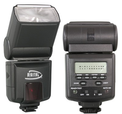 Digital Concepts 952AF TTL Power Zoom Bounce & Swivel Flash for Canon DSLR