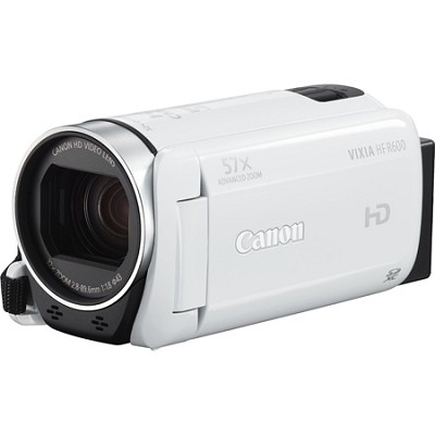 Vixia HF R600 High Definition Camcorder - White
