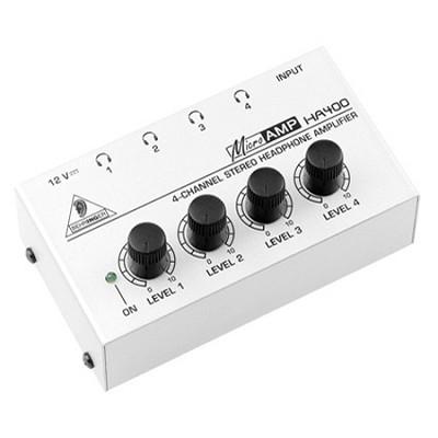 HA400 - 4-Channel Stereo Headphone Amp - OPEN BOX