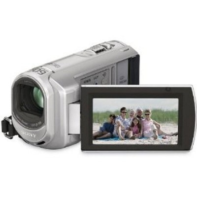 DCR-SX40 - 4GB Flash Memory / Memory Stick Handycam Camcorder Silver REFURBISHED