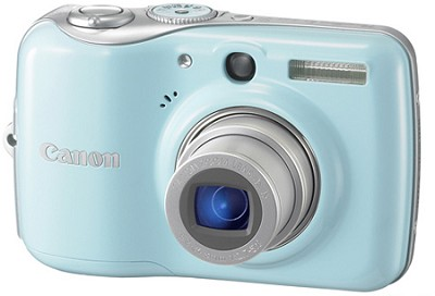 Powershot E1 IS Digital Camera (Blue)
