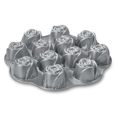 NW Sweetheart Rose Muffin Pan