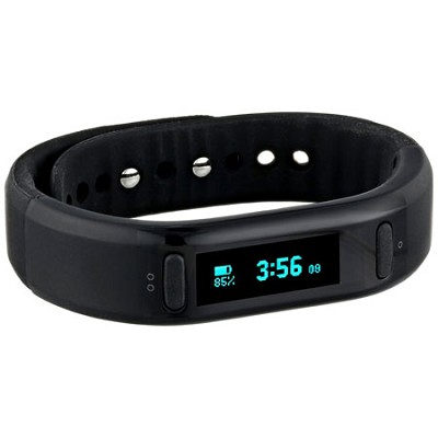 Soleus Unisex SF002-001 Go Fitness Band Digital Display Quartz Black Watch