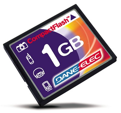 1GB CompactFlash Memory Card