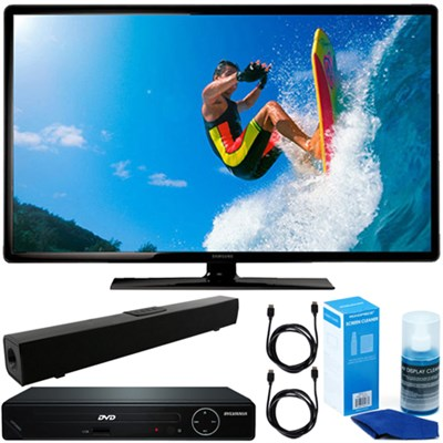 19` 720p LED HDTV Clear MR 120 + HDMI DVD Player + Bluetooth Sound Bar