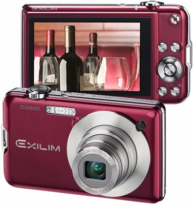 Exilim EX-S10 10.1MP Digital Camera with 2.7` LCD (Red)