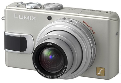DMC-LX1S (Silver) 8.4 Megapixel Digital Camera with 4x Optical Zoom