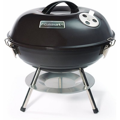 Portable Charcoal Grill, 14-Inch, Black - CCG-190