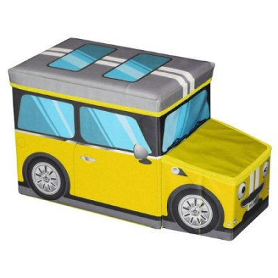 Mini Car Ottoman Yellow