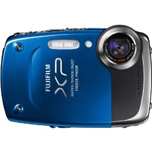 FinePix XP20 14 MP Underwater Digital Camera with 5x Optical Zoom (Blue)