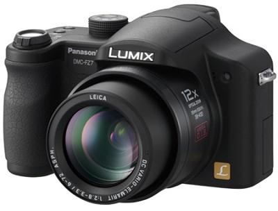 Lumix DMC-FZ7K 6-Megapixel Digital Camera (Black)