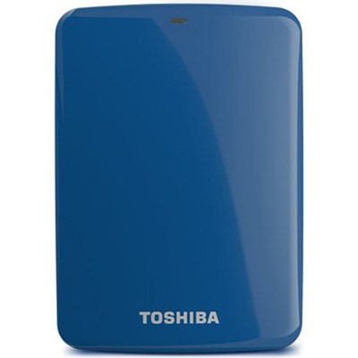 Canvio Connect 2TB Portable Hard Drive, Blue (HDTC720XL3C1)