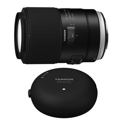 SP 90mm f/2.8 Di VC USD Macro Lens and TAP-In-Console for Canon Mount Cameras
